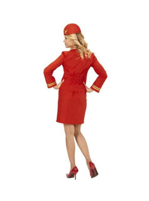 Stewardessekostume til kvinder
