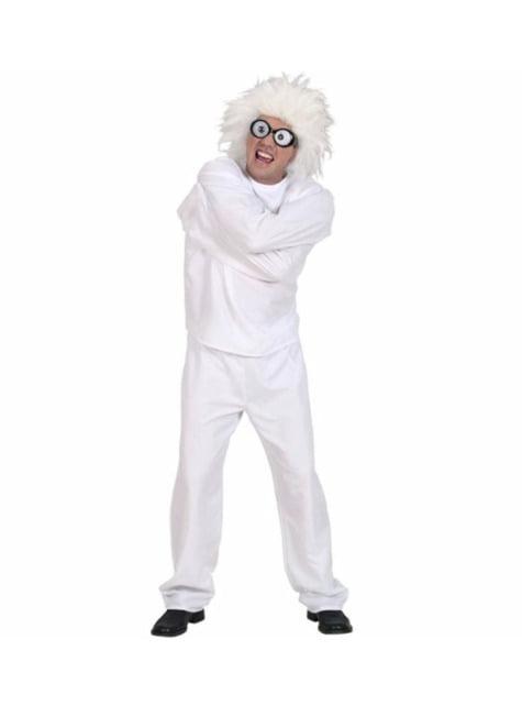 Disfraz de lunático para adulto