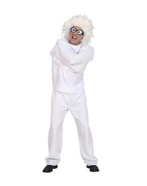 Costume da pazzo del manicomio per adulto taglie forti