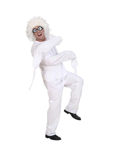 Disfraz de lunático para adulto talla grande - hombre