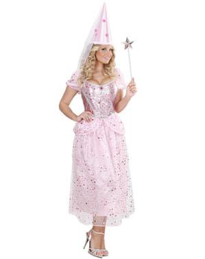 Fato de fada cor-de-rosa para mulher