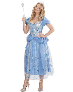 Disfraz de hada azul para mujer