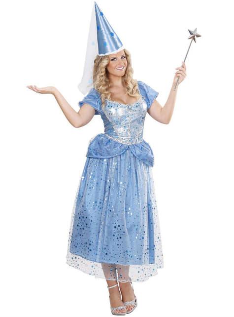 Disfraz de hada azul sexy para mujer - mujer