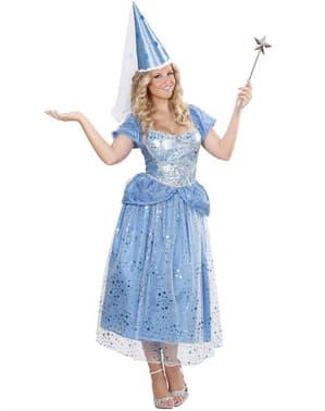 Woman's Blue Fairy Costume