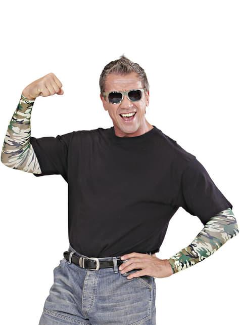 Mangas militares para adulto