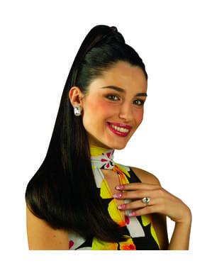 Woman's Dark Extra Long Hair Piece