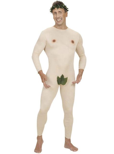 Adam im Paradies Kostüm für Herren große Größe