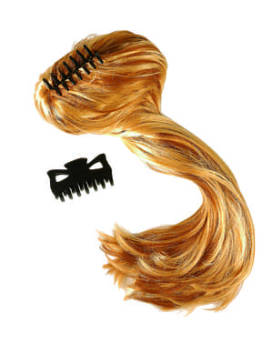 Жіноча блондинка екстра довго шматок волосся