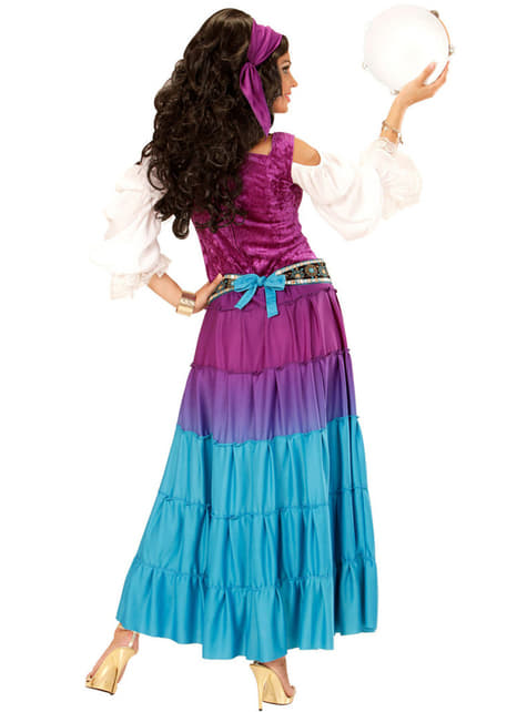 Woman's Plus Size Dancing Gypsy Costume