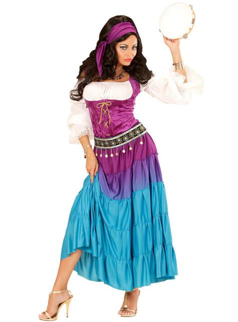 Woman's Dancing Gypsy Costume