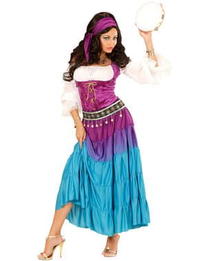 Zigeuner danseres kostuum voor vrouw