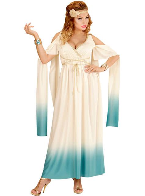Woman's Plus Size Greek Aristocrat Costume