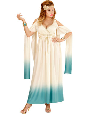 Griekse aristocraat kostuum voor vrouw grote maat