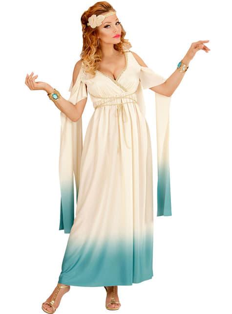 Disfraz de aristócrata griega para mujer talla grande - mujer