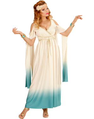 Гръцки аристократски костюм на жените плюс размер