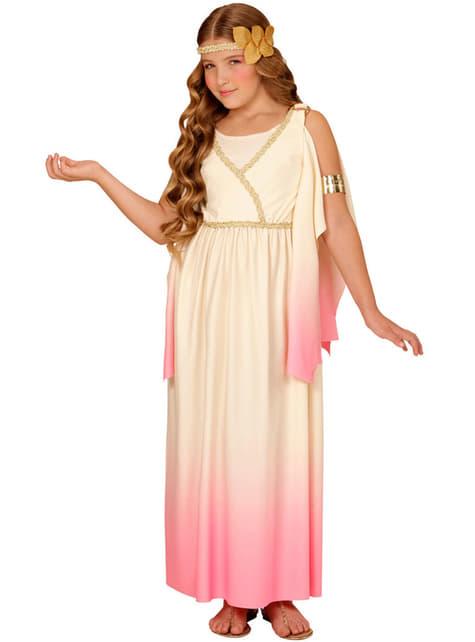Fato de grega doce para menina