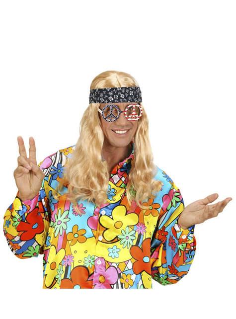 Gafas americanas paz y amor para adulto - para tu disfraz