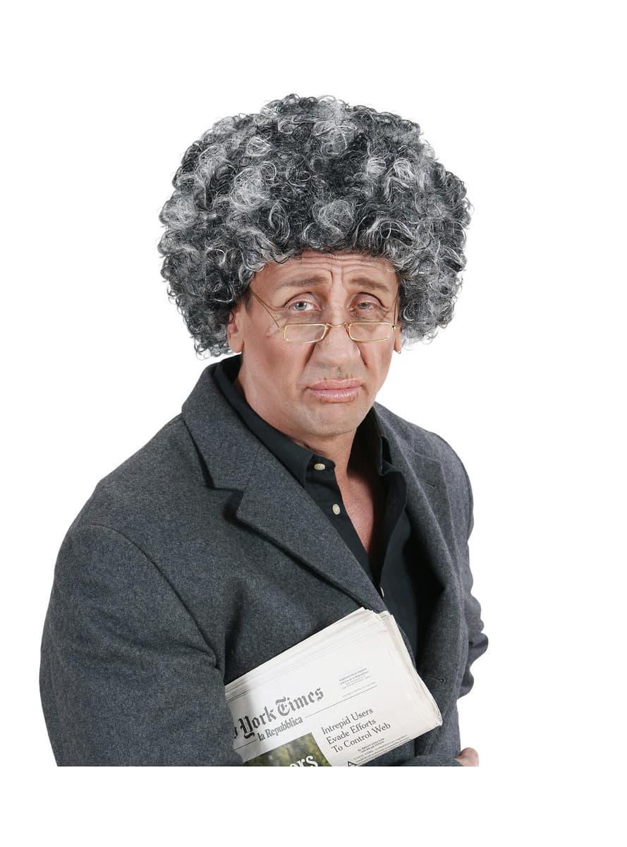 Man S Old Man Afro Wig