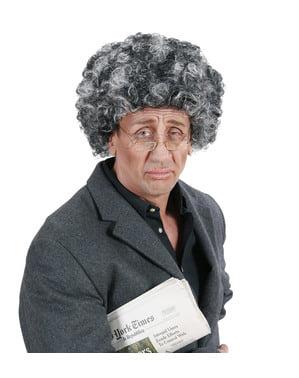 Man's Old Man Afro Wig