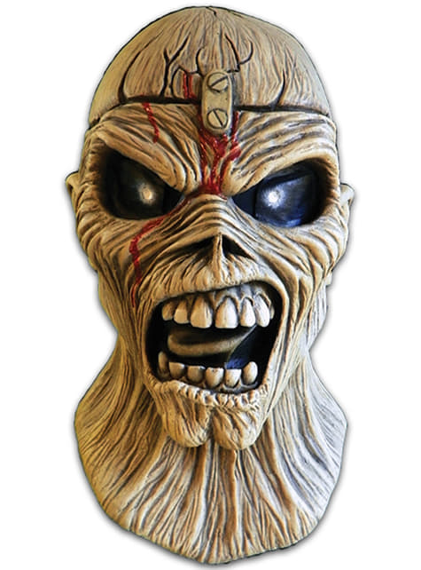 Máscara de Piece of Mind Iron Maiden para adulto