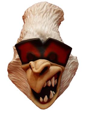 Lustige Gorilla Maske weiß