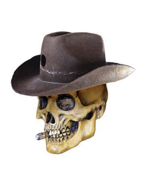 Máscara de Bandido Shadows of Brimstone para adulto