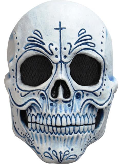Maska szkielet meksykańska śmierć dla dorosłych