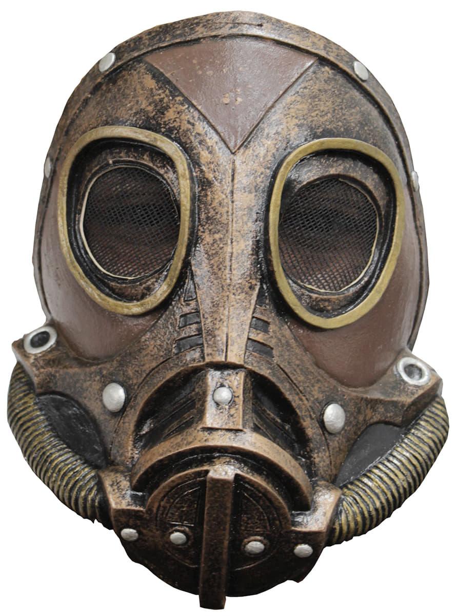 masque gaz steampunk adulte pour d guisement funidelia. Black Bedroom Furniture Sets. Home Design Ideas