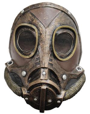 Máscara de gas Steampunk para adulto