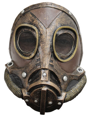 Steampunková plynová maska pro dospělé