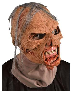 Máscara de anciano zombie para adulto