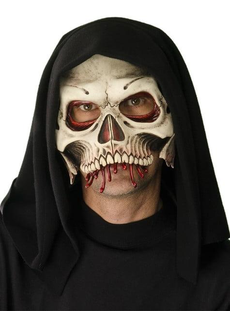 Adult's Skeletal Death Mask