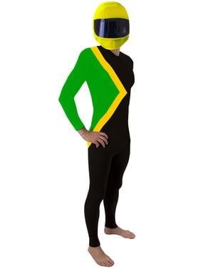 Jamaicansk Flag Kostume til Voksne