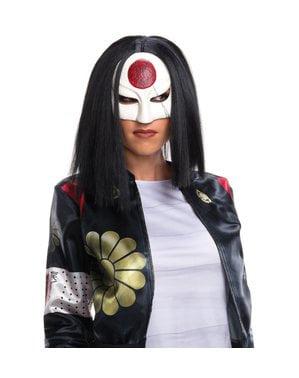 Perruque Katana Suicide Squad femme