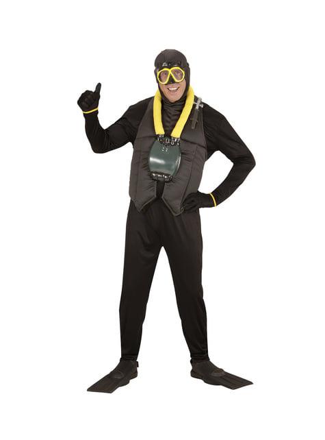 Taucher Kostüm für Herren Classic
