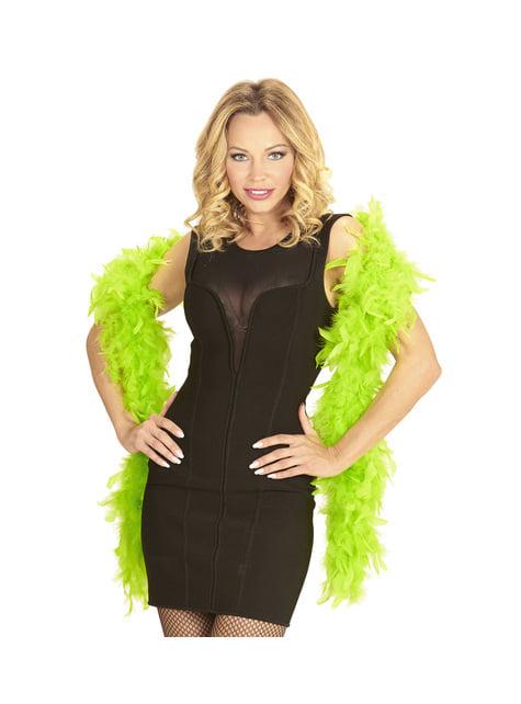 Fluorescent Green Feather Boa
