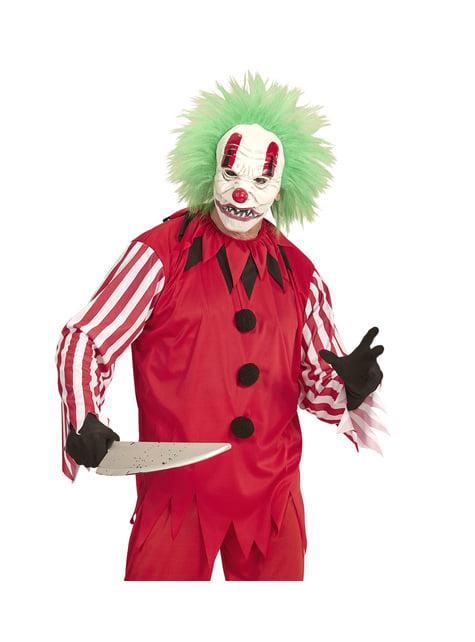 Kit disfraz de payaso macabro para hombre - hombre