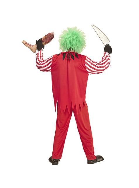 Kit disfraz de payaso macabro para hombre - traje