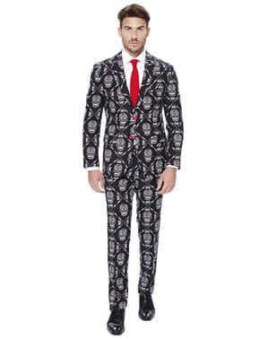 Opposuit Dødningehoved jakkesæt
