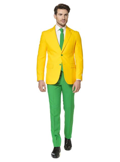 Brasilien Grün-gelber Anzug - Opposuits