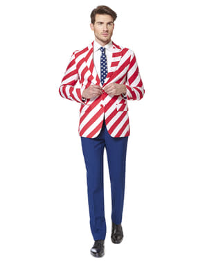 Costum barbați Steag Statele Unite