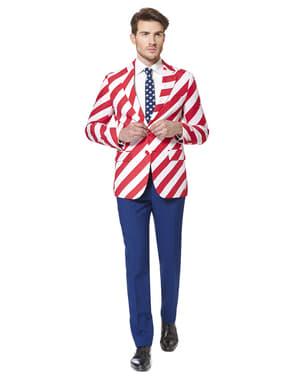 Originální oblek Opposuit vlajka USA