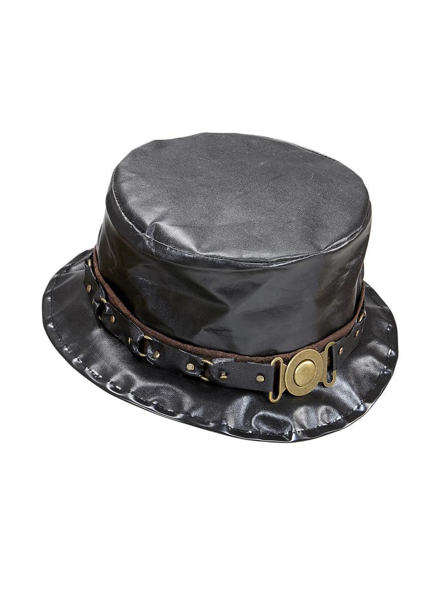 Chapeau haut de forme steampunk homme pour d guisement - Reduction blanche porte frais de port gratuit ...