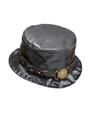 Cappello a cilindro steampunk per uomo