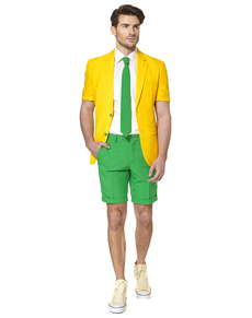 Traje Green and Gold Summer Edition Opposuit