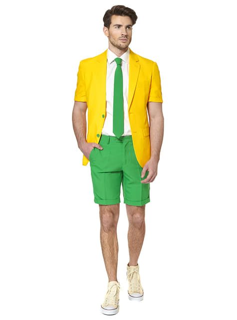 Traje Green and Gold Summer Edition Opposuit - hombre