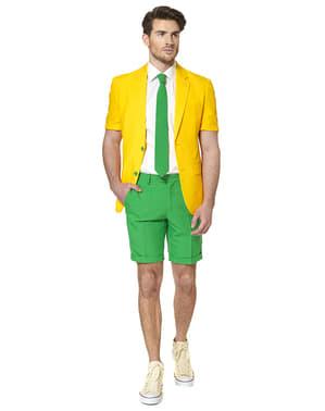 Costum barbați verde și galben Brazilia - Opposuits (Colecția de vară)