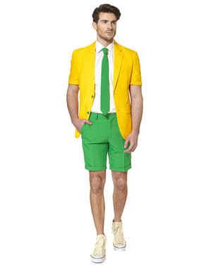 Opposuit Green and Gold Summer Edition kort jakkesæt