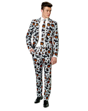 Costum barbați Halloween gri - Suitmeister