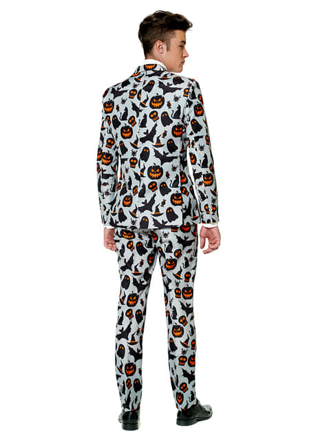 Traje Halloween Grey Icons Suitmeister - hombre